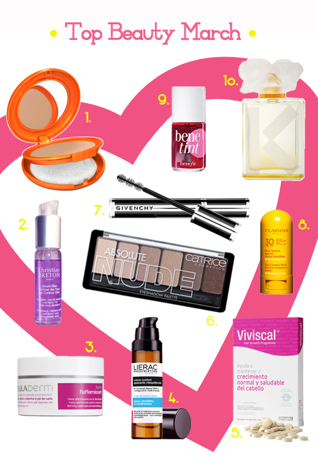 top_beauty_march_best_-products_givenchy_lierac_benefit_viviscal_clarins_vichy_christian_breton
