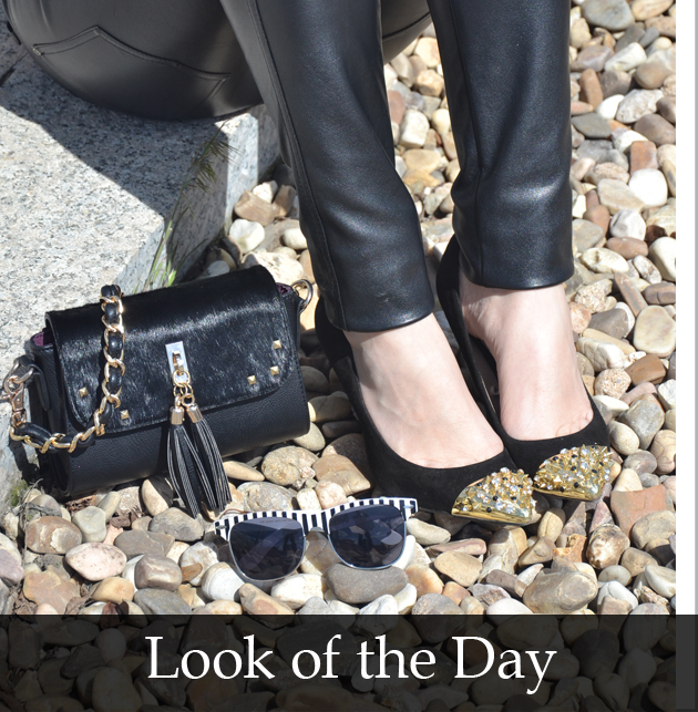 look_of_the_day_studded_shoes_satchel_bag_the_princess_in_black