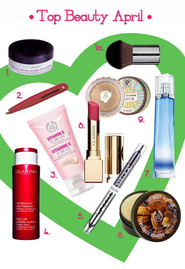 top_new_beauty_products_clarins_bodyshop_talika_benefit_terry_givenchy_tweezerman