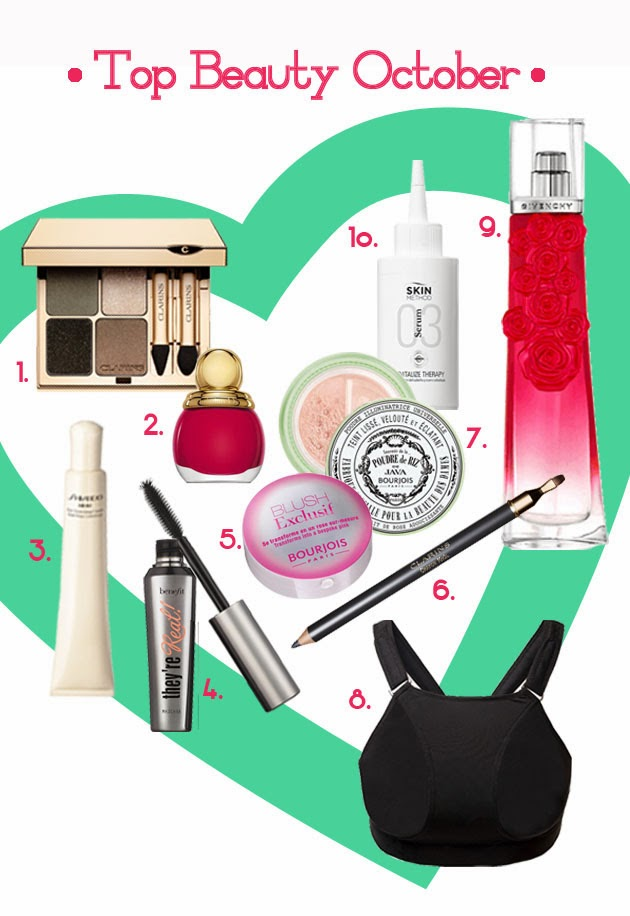 TOP-BEAUTY-PRODUCTS-BENEFIT-GIVENCHY-CLARINS-DIOR-SHISEIDO-PILLOWBRA
