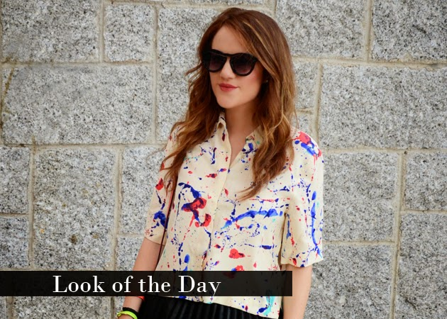 Look of the Day: Arty Style