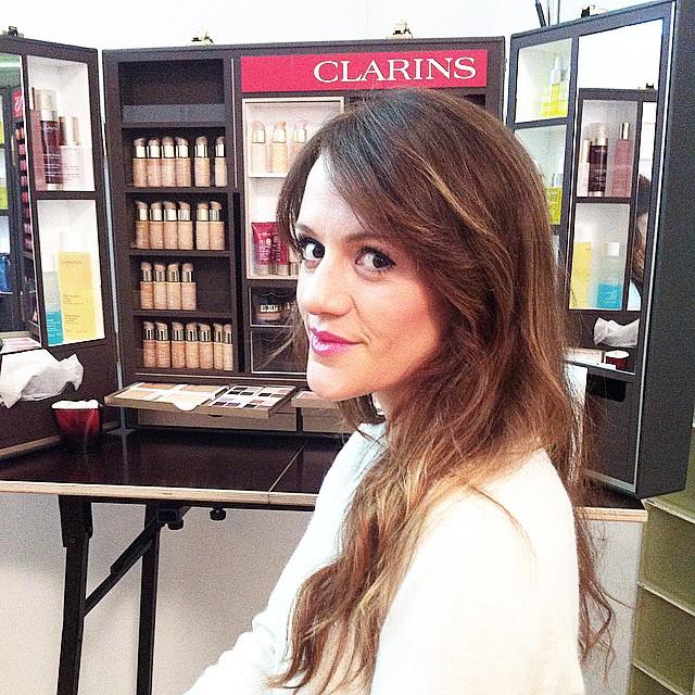Buenos días!!Espectacular la nueva colección de @Clarinsnews !! ??? Muy pronto en el blog!! Feliz miércoles!! Good morning!! Amazing the new #Clarins make-up collection !! Soon online!!?❤️? Have a nice day!! http://www.theprincessinblack.com #fashionblog #lookoftheday #lookbook #outfit #itgirl #toppic #instagrampic #bestpic #streetstyle #beauty #happy #followme #havefun #instagramlikes #blogger #blog #blogmoda #glamour