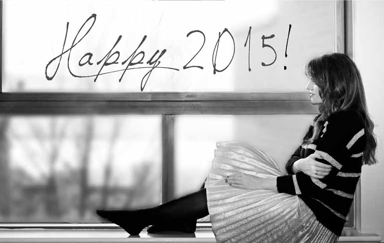 FELIZ AÑO NUEVO 2015 THE PRINCESS IN BLACK