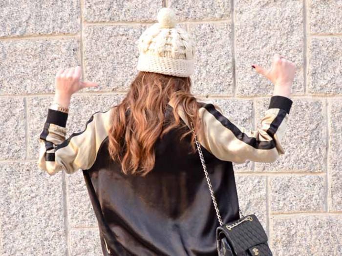 Cómo combinar las chaquetas estilo Bomber