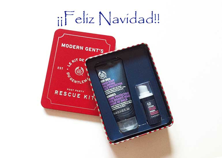 ¡ Sorteo Kit Post Party para Hombre de TheBodyShop !